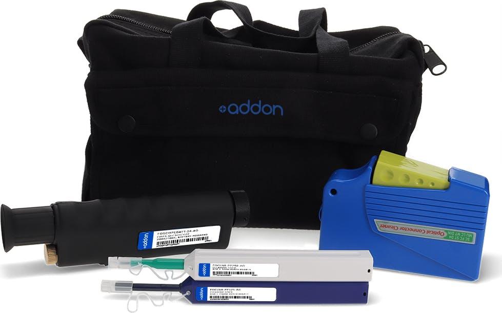 AddOn Fiber Transceiver & Connector Cleaning Kit